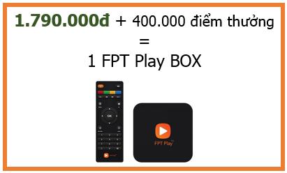SỞ HỮU FPT PLAY BOX GIÁ SỐC CHỈ 1.790.000Đ CÙNG FSHARE POINT